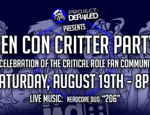 Project Derailed's Gen Con Critter Party
