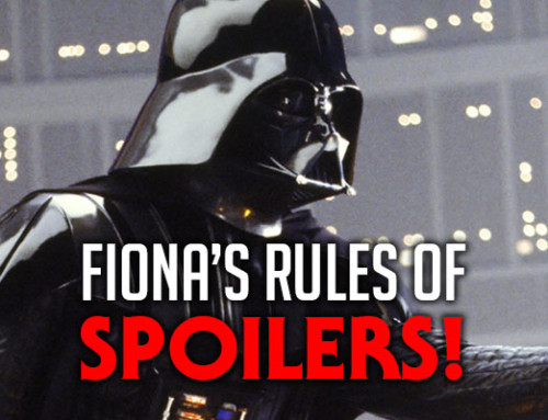 Fiona's Rules Of Spoilers