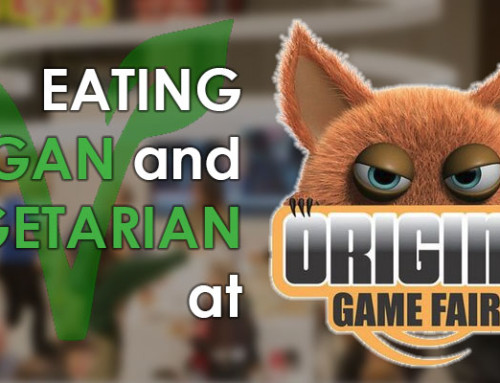 Eating Vegan and Vegetarian at Origins Game Fair