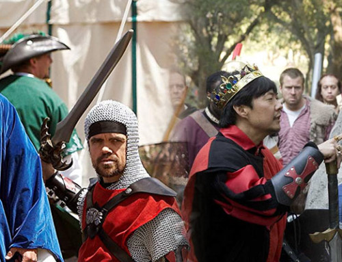 LARPing As Represented In 'Knights Of Badassdom' And 'Role Models'