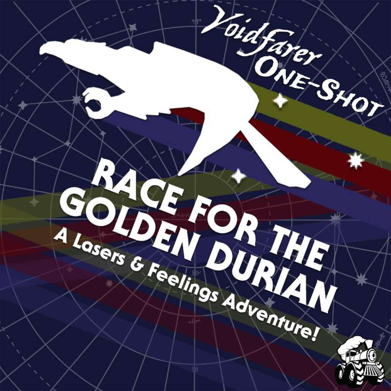 ONE-SHOT: Race for the Golden Durian (Lasers & Feelings)
